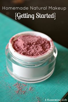 Let me help you get started making your own natural makeup. This post contains all you need to know to do so!  :: A Blossoming Life