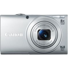 Canon PowerShot A4000IS 16.0 MP Digital Camera with 8x Optical Image Stabilized Zoom 28mm Wide-Angle Lens with 720p HD Video Recording and 3.0-Inch LCD (Silver) | The Best Products Of Amazon