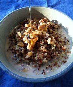 Cinnamon-Scented Breakfast Quinoa Recipe | Epicurious.com