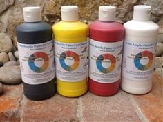 Great for painting on cardboard:  Non Toxic, V.O.C. Free Acrylic Paints For Kids from Nature of Art for Kids!      Special Pinterest deal, 5-4oz acrylic paint starter kit for 16.99 (shipping not included). Use code ms-acrylic-4/13, good for 1 set only, not good with any other coupons.  Check out our other eco-friendly, non-toxic art supplies for kids on our website.