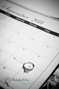 image of Creative Save The Date Photo Idea