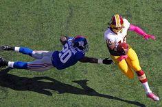 RG3 vs Giants