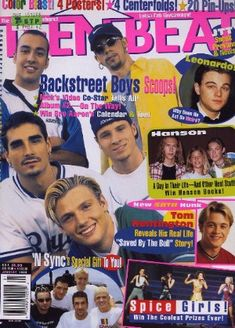 I fully admit to being an avid buyer of Teen Beat in the 90's.