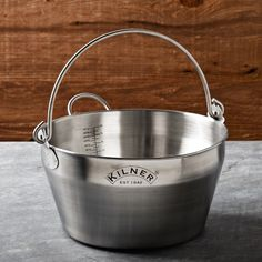 Stainless-Steel Jam Pan - this is so awesome #pdagrarian