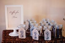 Coffee themed favors
