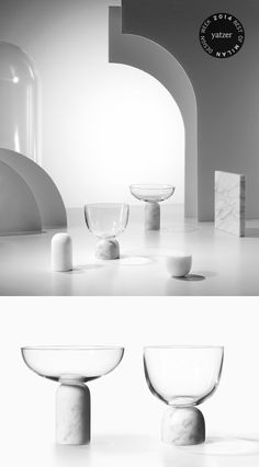 The new glasssware collection 'On The Rock' by Lee Broom. http://www.yatzer.com/best-of-milan-design-week-2014