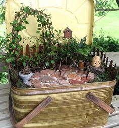 Miniature Garden Trellis  Fairy Garden by GardenBarn on Etsy