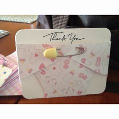 Baby Shower Thank You Cards.