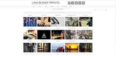 Lugas Blogger Template is free premium blogger template with easy design, simple, elegant, wordpress look, one column on homage, two column on postpage, social profile and nice related post.
