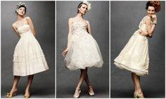 Anthropologie Tea Length Wedding Dresses
