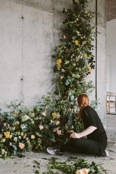 floral garland goals