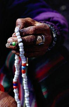 counting prayer beads