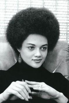 Kathleen Cleaver. Black Panther, SNCC secretary