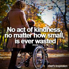How do you change the world? One Act of Random Kindness at a time