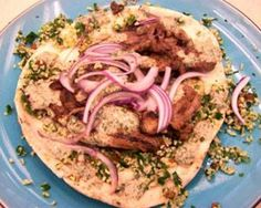 Arabic lamb shawarma