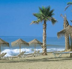 Hang out at the beach in Spain