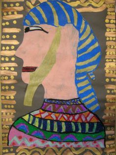 The Elementary Art Room!: Egyptian Portraits