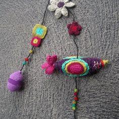 crochetgarland, textil
