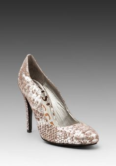 KELSI DAGGER Lillian Pump in Pewter  Love this shoe ... it has my name on it!! :))