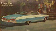 Dealer Showroom Poster 66' - 67' Caprice...