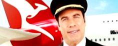 John Travolta Qantas safety video
