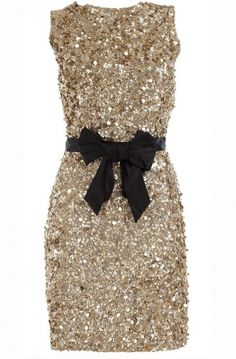 Everyone has their black dress and I just think everyone should have a glamorous sparkly dress! :D
