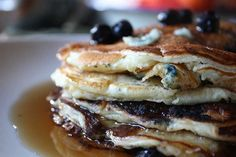 Loaded Blueberry Pancakes  How To Make Pancakes | Easy Pancake Recipe