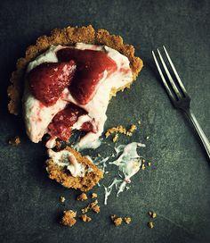Strawberry Cheesecake Tart