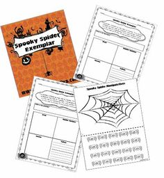 Halloween Freebies! Spider Activities