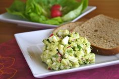 Avocado Egg Salad - this sounds like a perfect summer meal!