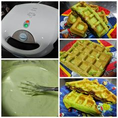 Baking's Corner: pandan  waffles - By Jennifer Seet
