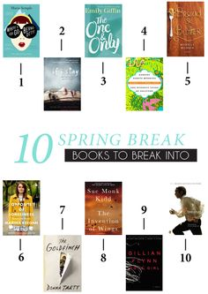 10 Spring Break Books You Need to Read!