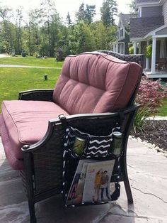 Thirty-One Gifts - On a Stroll Bag...Perfect for outdoor furniture!
