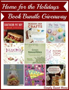 Home for the Holidays Book Giveaway and Nature's Sleep Sweepstakes.  Ends 12/17