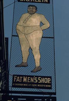 Fat Men's Shop