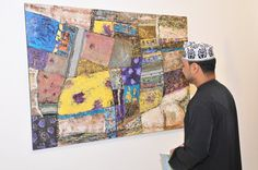 Hussain Al Hajri exhibition at Bait Muzna Gallery