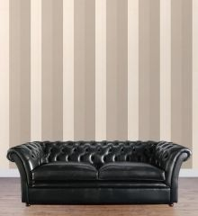 Striped Wallpaper- Graham & Brown: Figaro (Mocha, Cream, Beige) (FYW-57222) figaro mocha, stripe wallpap
