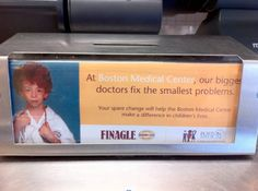 Finagle-a-Bagel Donation Boxes