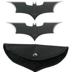 Batman Knife Throwing Set - 100% Metal Throwing Knives Set...