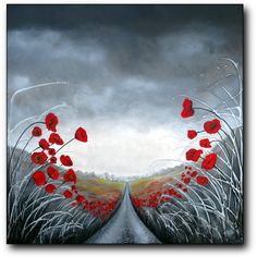 Amanda Dagg painting art beautiful canvas artwork by daggart, SOLD