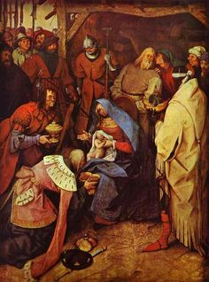 ,La Adoración de los Reyes,Pieter Bruegel the Elder,1564, óleo, National Gallery, Londres, Reino Unido, Ruth Pérez Buendía