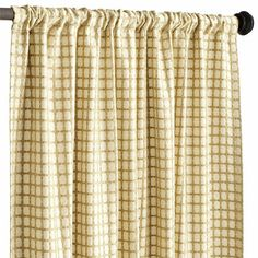 Jute Waffle Curtain - Natural | Pier 1 - great texture, actually - saw them in store.
