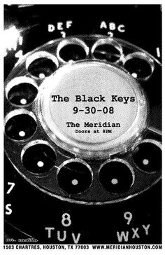black keys.