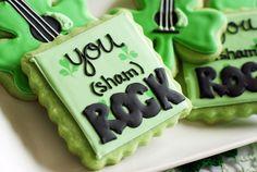 You DO (sham) rock, though, you know.