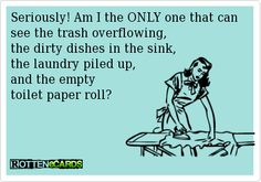amen, cleaning, toilet paper rolls, funni, hous