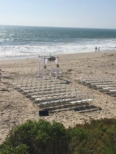 Salt Creek Beach Ceremony #bellablooms