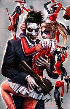 nanigasy:    Greg Horn - Joker and Harley Quinn    HA
