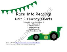 Fluency Charts Journeys� Unit 2 First Grade from First Grade Magic on TeachersNotebook.com -  (7 pages)  - Includes six different fluency charts, mainly focusing on consonant blends.