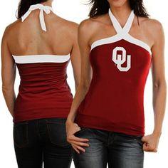 Oklahoma Sooners Halter Top