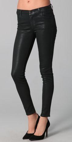 j brand coated jean